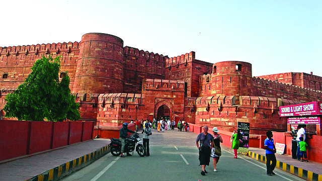 agra fort 379667 1920