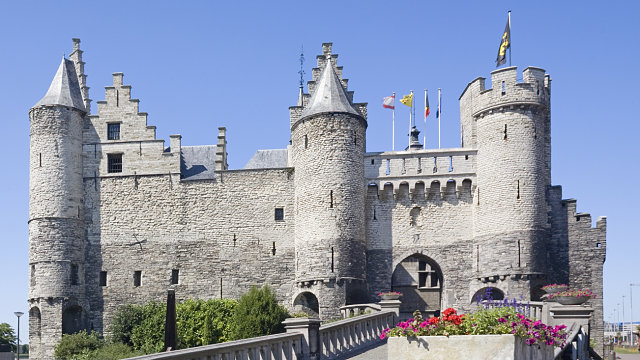 antwerp steen castle