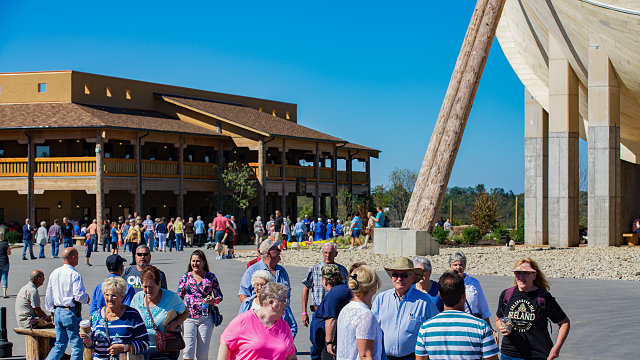 ark encounter crowds