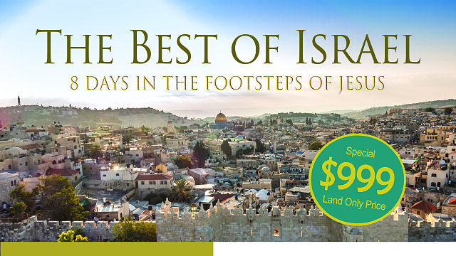 best of israel flyer