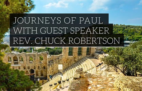 2nd & 3rd Journeys of Paul Cruise 2020 with Guest Speaker Canon C.K. Robertson