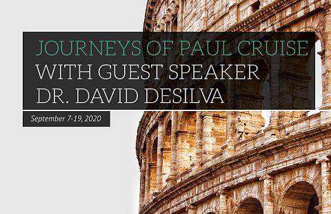 Journeys of Paul Cruise with Dr. David deSilva 2020