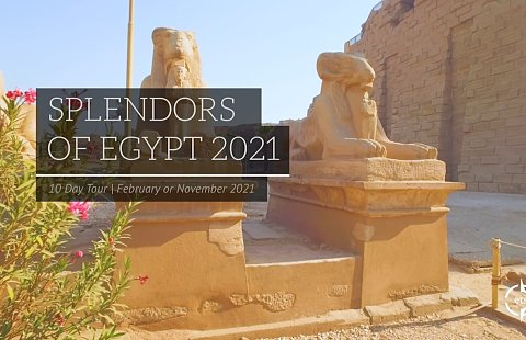 Splendors of Egypt 2021
